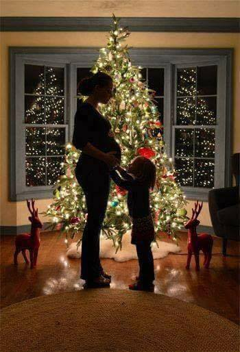 embarazada arbol
