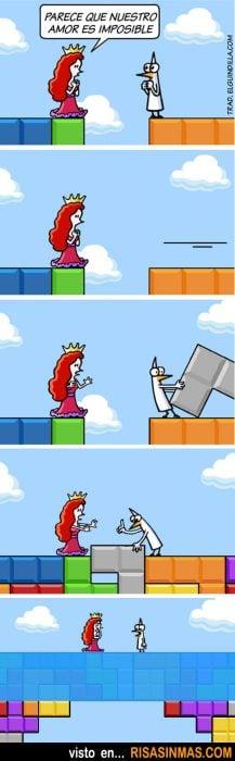ilustración tetris