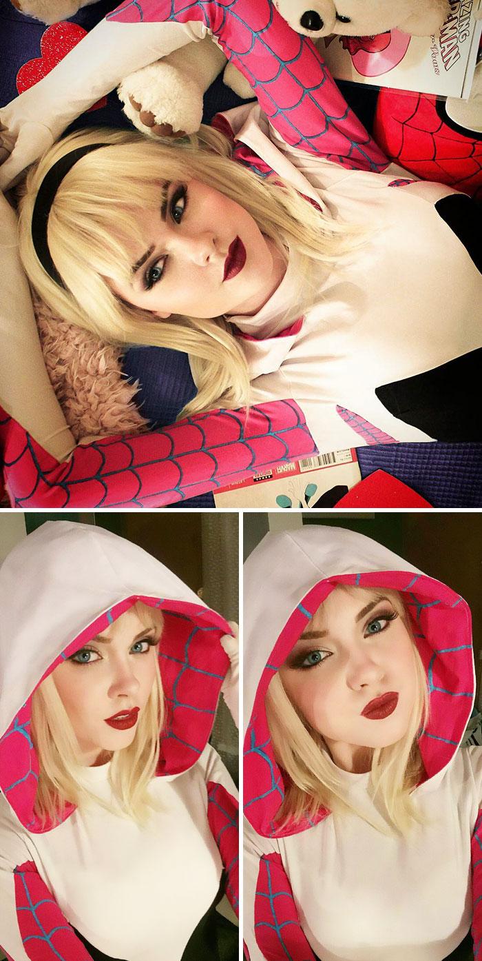cosplay modelo
