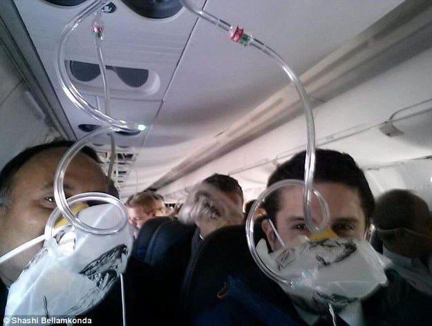 selfie avión