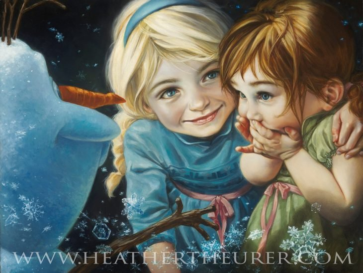 frozen pintura heather