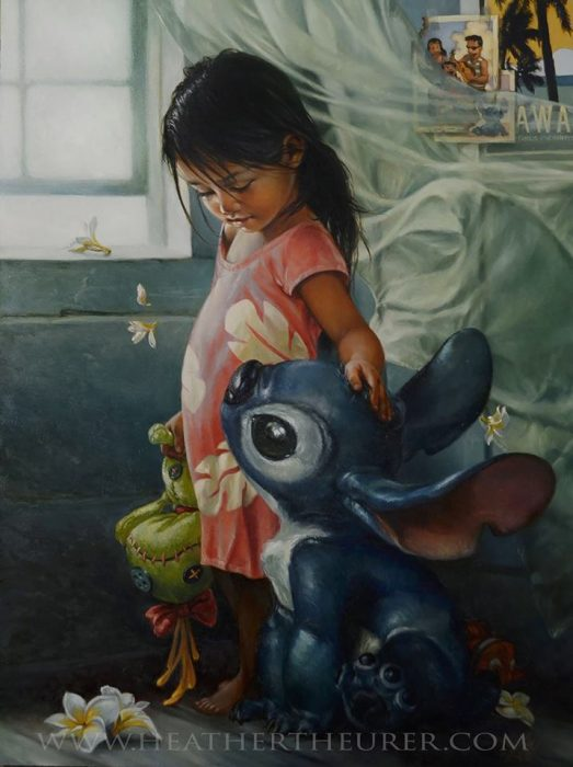 lilo pintura heather