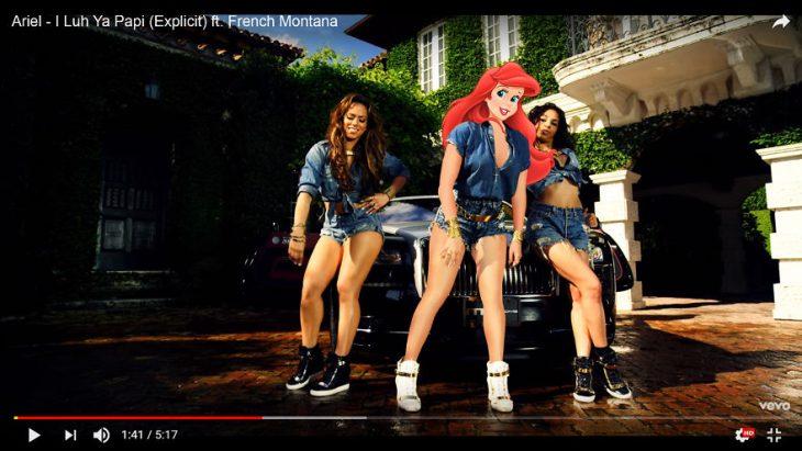 Princesas videos musicales ariel