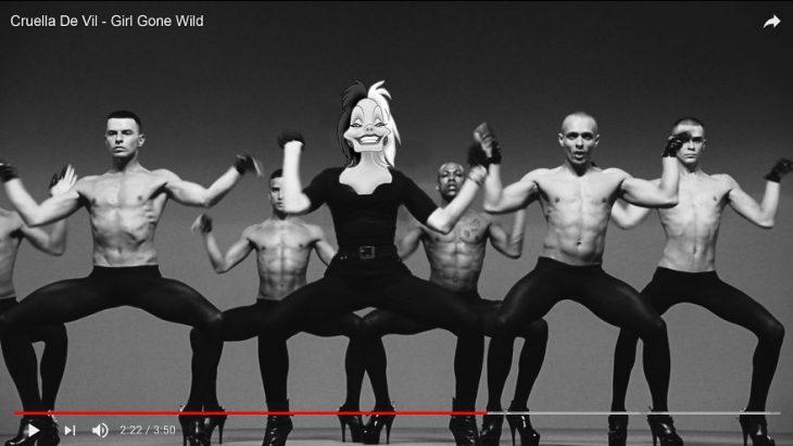 Princesas videos musicales cruela
