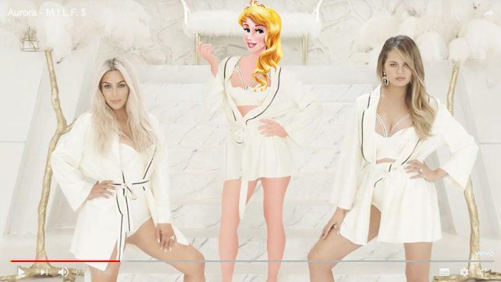 Princesas videos musicales aurora
