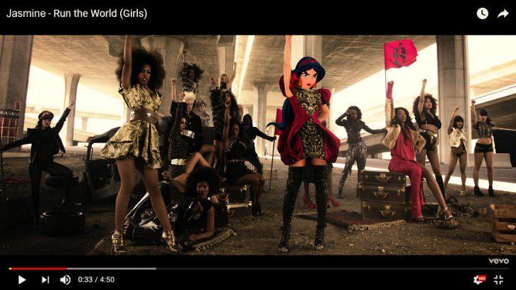 Princesas videos musicales jazmín