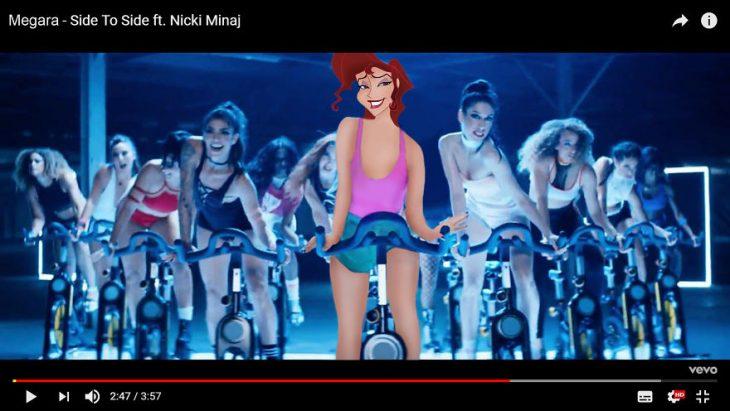 Princesas videos musicales megara