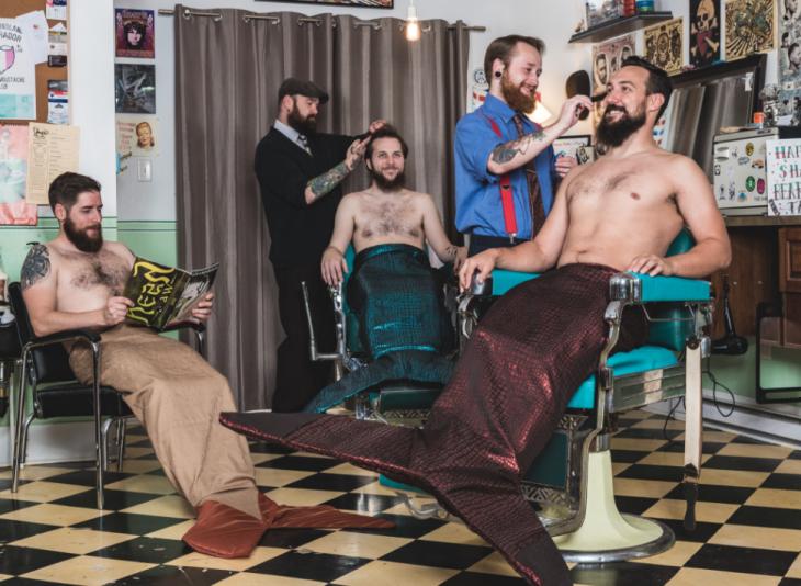 sirenos en el peluquero