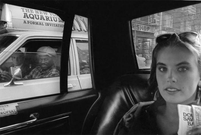 Taxi selfies