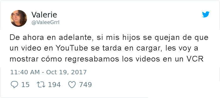 regresar videos en vcr