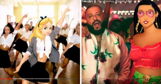 Cover Si las princesas de Disney fueran cantantes y tuvieran sus videos musicales