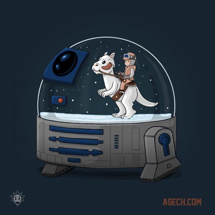 Navidad al estilo Star Wars