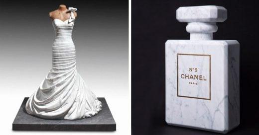 Cover Artista elabora asombrosas e hiperrealistas figuras de mármol