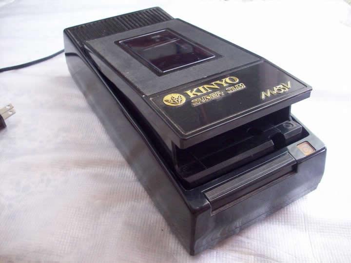 Rebobinador para VHS