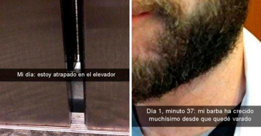 Cover Narra cómo sobrevivió estar atrapado en un elevador sin volverse loco