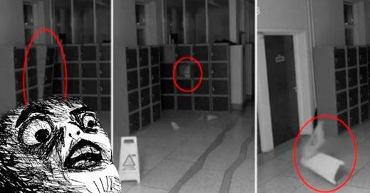 Cover La escuela más embrujada del mundo: una cámara de seguridad grabó a un fantasma