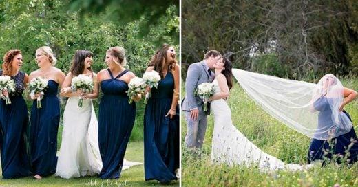Cover Dama de honor cumplió el papel más importante: hacer reír a la novia