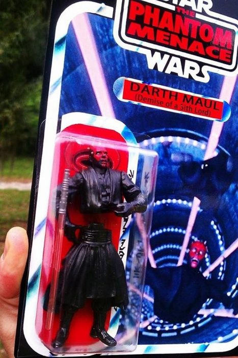 Los fans de star wars llorarían con este juguete