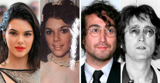 Cover Fotografías de famosos que parecen el vivo retrato de sus padres