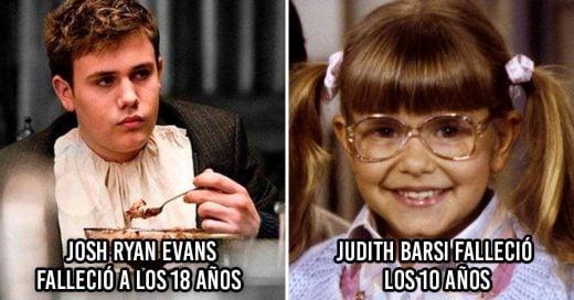 Cover Actores que triunfaron de niños pero murieron muy jóvenes