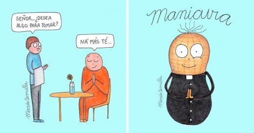 Cover Ilustraciones divertidas que seguro alegrarán tu día