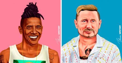 Cover Así se verían estos 15 líderes mundiales si fueran hipsters
