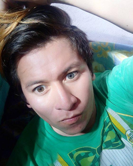 choco ojos bicolor