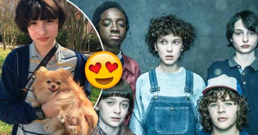 Cover Échale un vistazo al intruso en el set de Stranger Things y salva tu semana