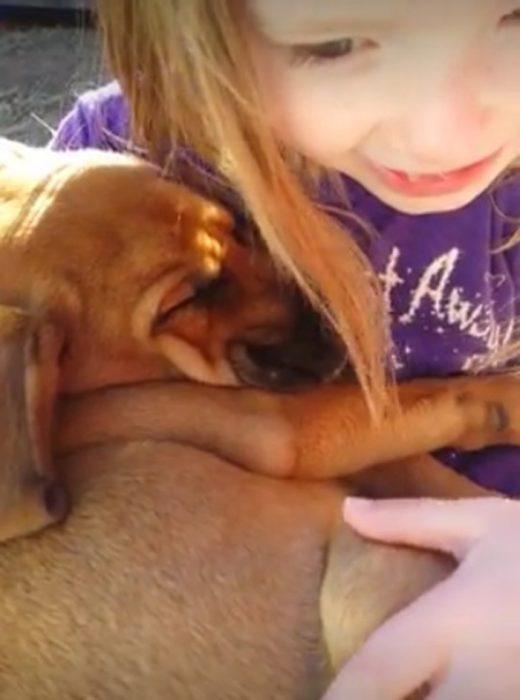 Katy y el perrito