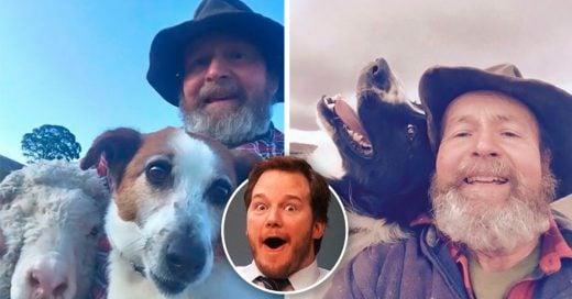 Cover Padre aprende a tomar selfies y él y sus animales se convierten en una sensación viral