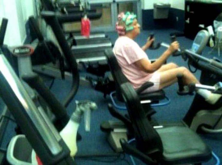 Lo importante es hacer ejercicio