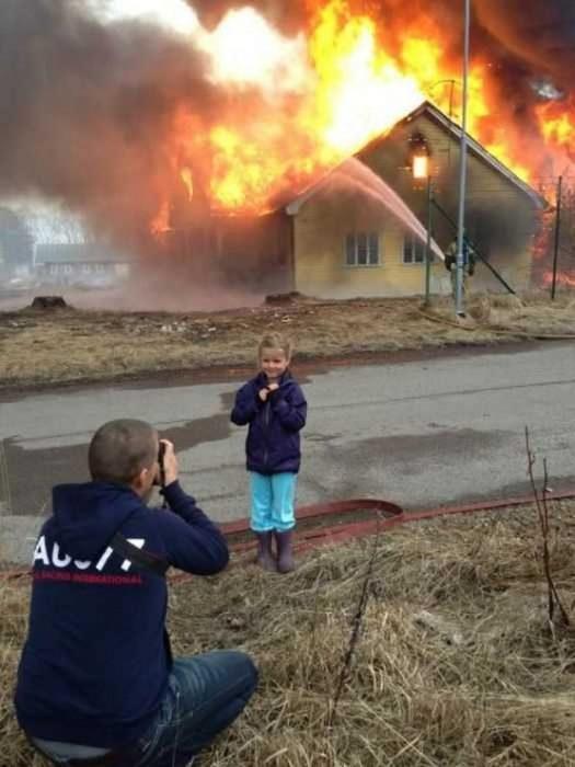 foto para recordar el incendio de nuestra casa