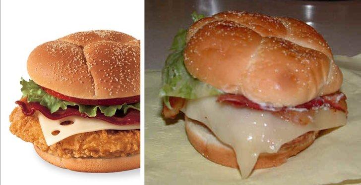 las hamburguesas no se parecen