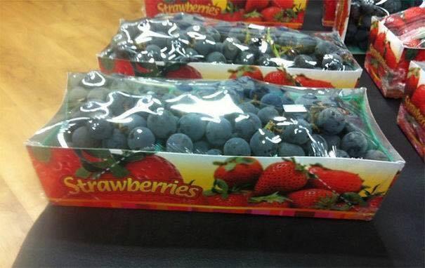 alguien confundió las fresas