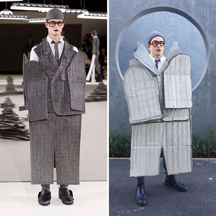 Modelo de Paris Mens