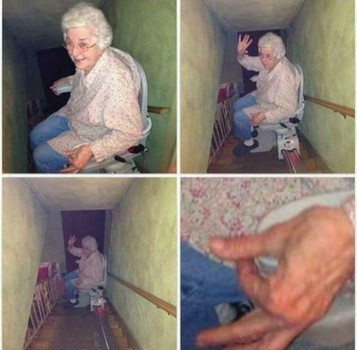 La abuela te quiere decir algo