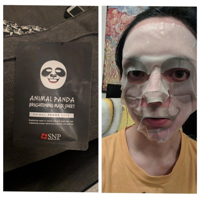 mascara panda