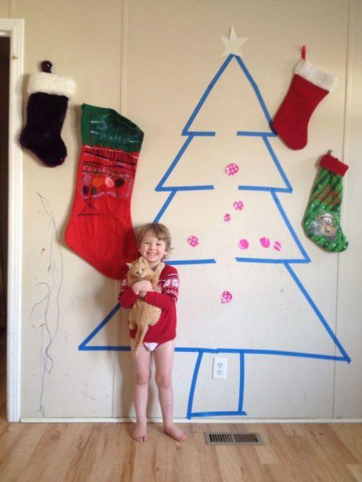 navidad pobre