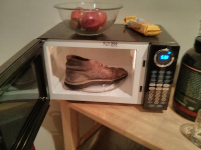 zapato horno