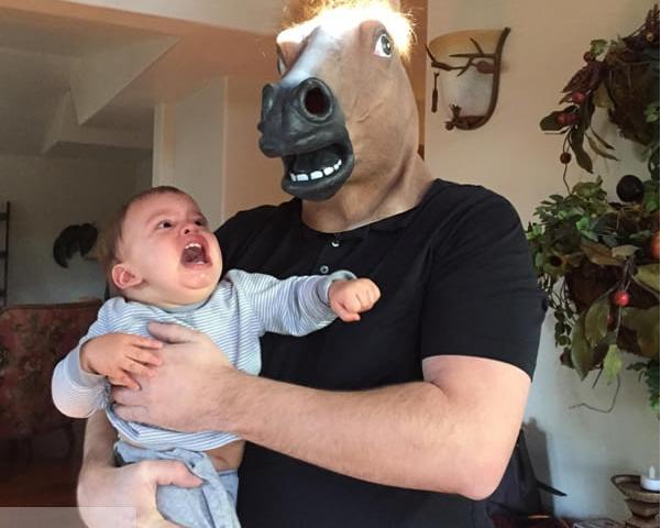 niño hombre caballo