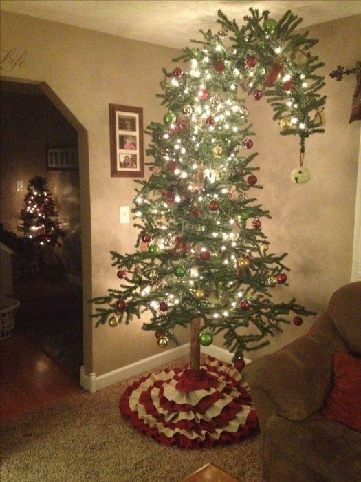 navidad decorada por grinch