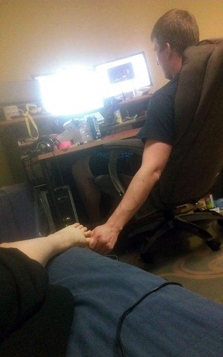 mano y pie