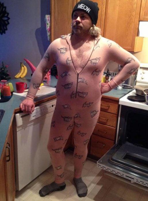 gatitos pijama