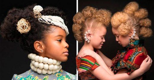 Cover Preciosas fotografías de niñas con cabello afro