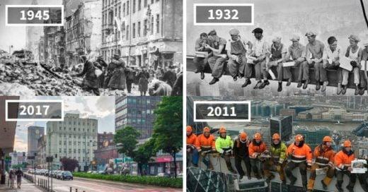 Cover cómo ha cambiado el mundo a través de los años