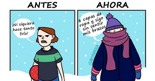 Cover Divertidos problemas que TODOS tenemos en invierno