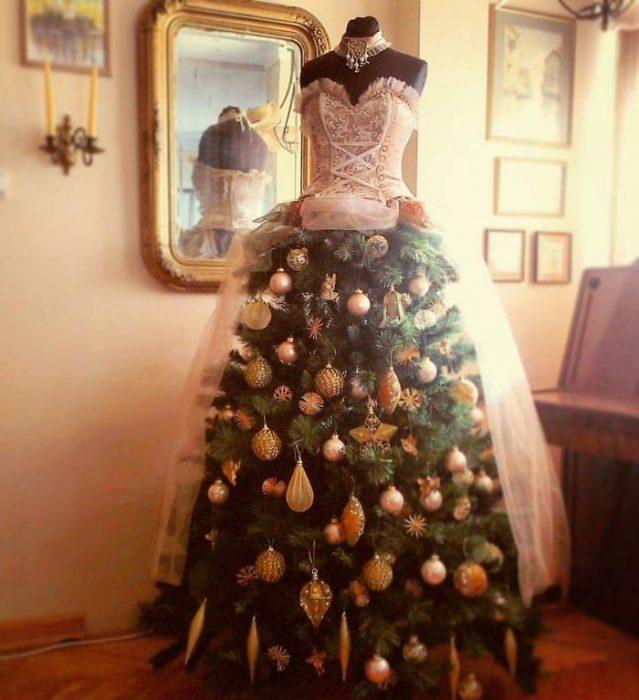vestido arbol