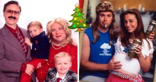 Cover enviaron tarjetas navideñas graciosas durante 15 años