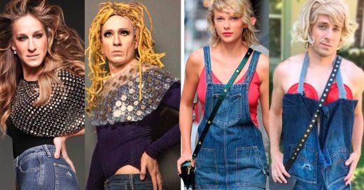 Cover se burla de la ropa de las celebridades