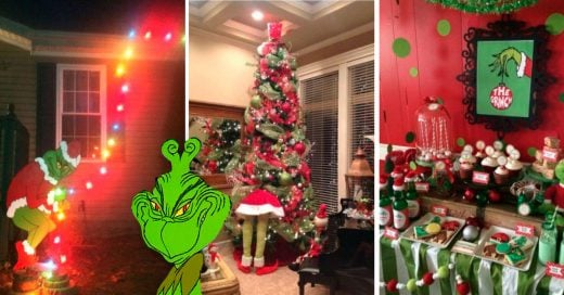 Cover Decoraciones perfectas para el Grinch de tu familia